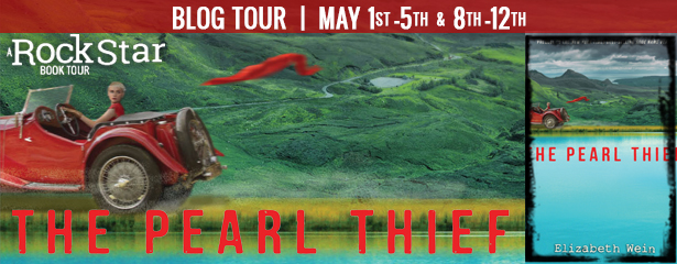 THE PEARL THIEF blog tour
